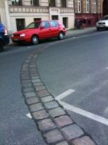 Empreinte du mur de Berlin