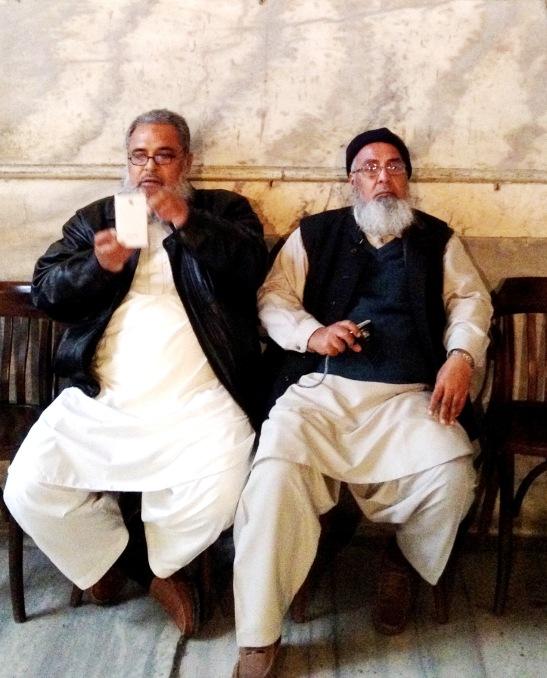 I got talking to two gentlemen from Karachi, Pakistan, also visiting Haghia Sophia.